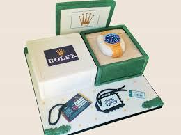 rolex watch birthday cake bespoke wedding cake birthday cake