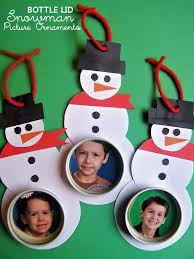 diy bottle lid snowman photograph ornaments a free tutorial for
