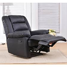 amazon com soges luxurious manual recliner chair leather sofa