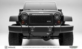 T Rex Jeep Wrangler Zroadz Series Main Insert Grille W One