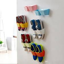 hanging shoe caddy 2018 2017 wall mounted plastic shoe shelf self adhesive living