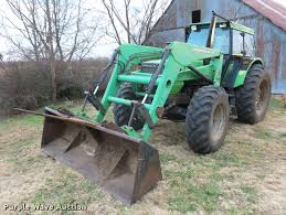 deutz allis 7145 mfwd tractor item g1339 sold august 23