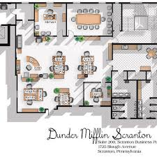floor layout the office us tv show office floor plan dunder mifflin