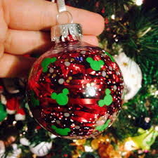 make your own disney inspired ornaments disney