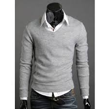 2015 s sweater pullover mens dress shirts plus size