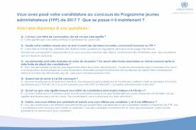 si e des nations unies un careers on you applied for the professionals