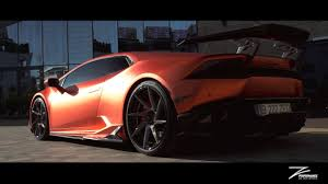 Lamborghini Huracan Body Kit - lamborghini huracan z performance fi exhaust zacoe bodykit