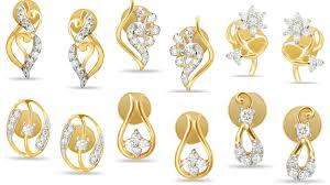 design of gold earrings ear tops gold earrings ear stud online