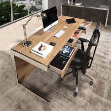 Wooden Home Office Furniture by Best 25 Modern Office Desk Ideas On Pinterest Modern Desk
