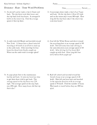distance rate time word problems worksheet a hundreds chart