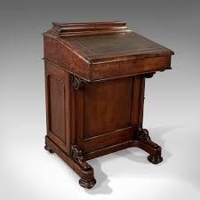 oak writing bureau furniture antique davenport oak writing desk bureau