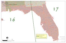 Florida State Map by Florida State Plane And Utm U2014 Urban Forest Strike Teams
