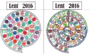 lent praying in color