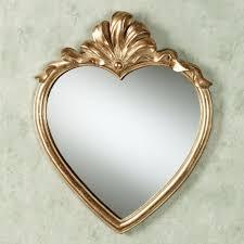 ls plus round mirror karessa heart wall mirror