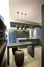 a warm and elegant showroom by bartoli design