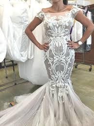 Custom Made Wedding Dresses Steven Khalil Custom Made Wedding Dress On Sale 58 Off