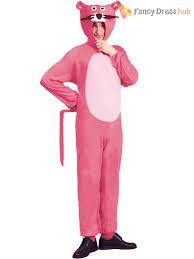 pink panther costume mens ladies tv cartoon fancy dress 60s