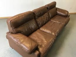 canap de sede canapé cuir de sede vintage sofa de sede leather