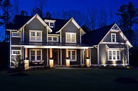 central new jersey exterior home lighting show off your