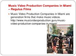 Miami Video Production Miami Video Production Regulus Films