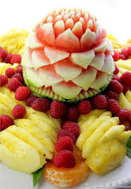 fruit displays watermelon carving and fruit display pham fatale