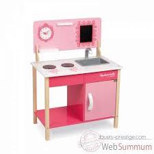 cuisine janod mini cuisine mademoiselle janod j06566 dans jouets en bois janod