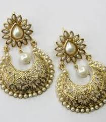 danglers earrings design buy antique golden hangings danglers drop online earring