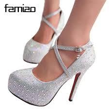 wedding shoes no heel 2016 women high heels prom wedding shoes platforms