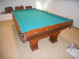 brunswick monarch pool table brazell moving auction higgins auctions