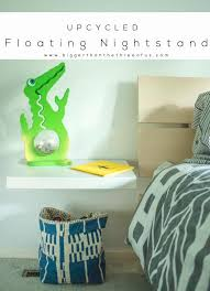 Wall E Floating Chairs Diy Floating Nightstand