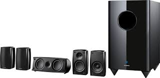 woofer for home theater amazon com onkyo sks ht540 7 1 channel home theater speaker