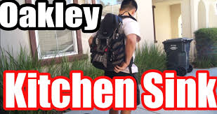 Oakley Kitchen Sink Bag by Oakley Back Pack Kitchen Sink Product Review Youtube