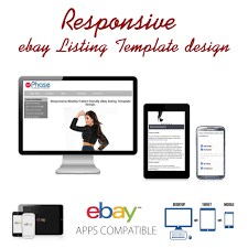 ebay template design responsive ebay listing template design auctiva inkfrog