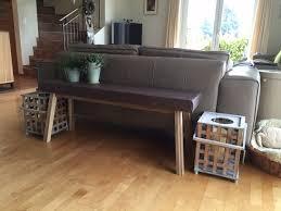 ikea bench ikea skogsta from bench to narrow console table ikea hackers