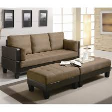 Fabric Sofa Bed Brown Fabric Sofa Bed And Ottoman Set A Sofa Furniture