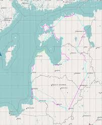 Baltic States Map 2014 Baltic States Tandem On Tour