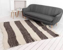 Scandinavian Area Rugs by White Rug Etsy