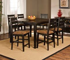 hillsdale killarney counter height 7 piece dining set black