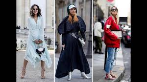 style trends 2017 paris fashion week fall 2017 street style trends youtube