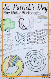 Special Education Worksheets 83 Best Fine And Gross Motor Activities Images On Pinterest