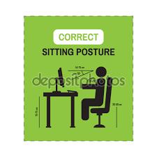 position assise bureau bureau de posture ergonomique corriger la position assise