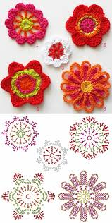 Crochet Designs Flowers 84 Best Japanese Crochet Flowers On The Road To Making A Sophie