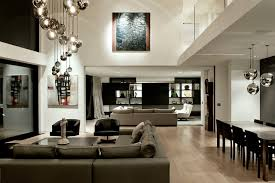 High Ceiling Light Fixtures Lucerne Contemporary Family Room Auckland By Daniel
