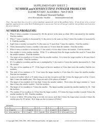 integer word problem worksheets free worksheets library download