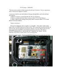 repair vp 44 pump pump capacitor