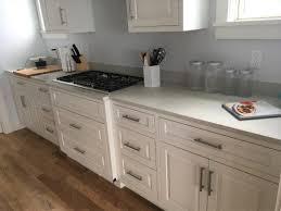 rhode island kitchen and bath caesarstone grey kitchen and bath counter tops