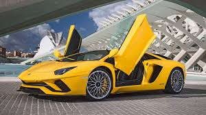 yellow lamborghini lamborghini aventador s 2017 review by car magazine