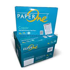 paper ream box paperone a4 paper 70gm 500sht ream 5 ream box