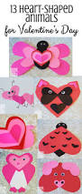 valentine u0027s day heart animal crafts for kids feels like home