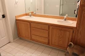 Janine And Vanity Jack And Jill Bathroom Remodel Part 1 One Hundred Dollars A Month